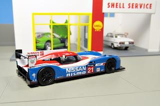 Spark - Nissan GT-R LM Nismo No.21 LMP1 Le Mans