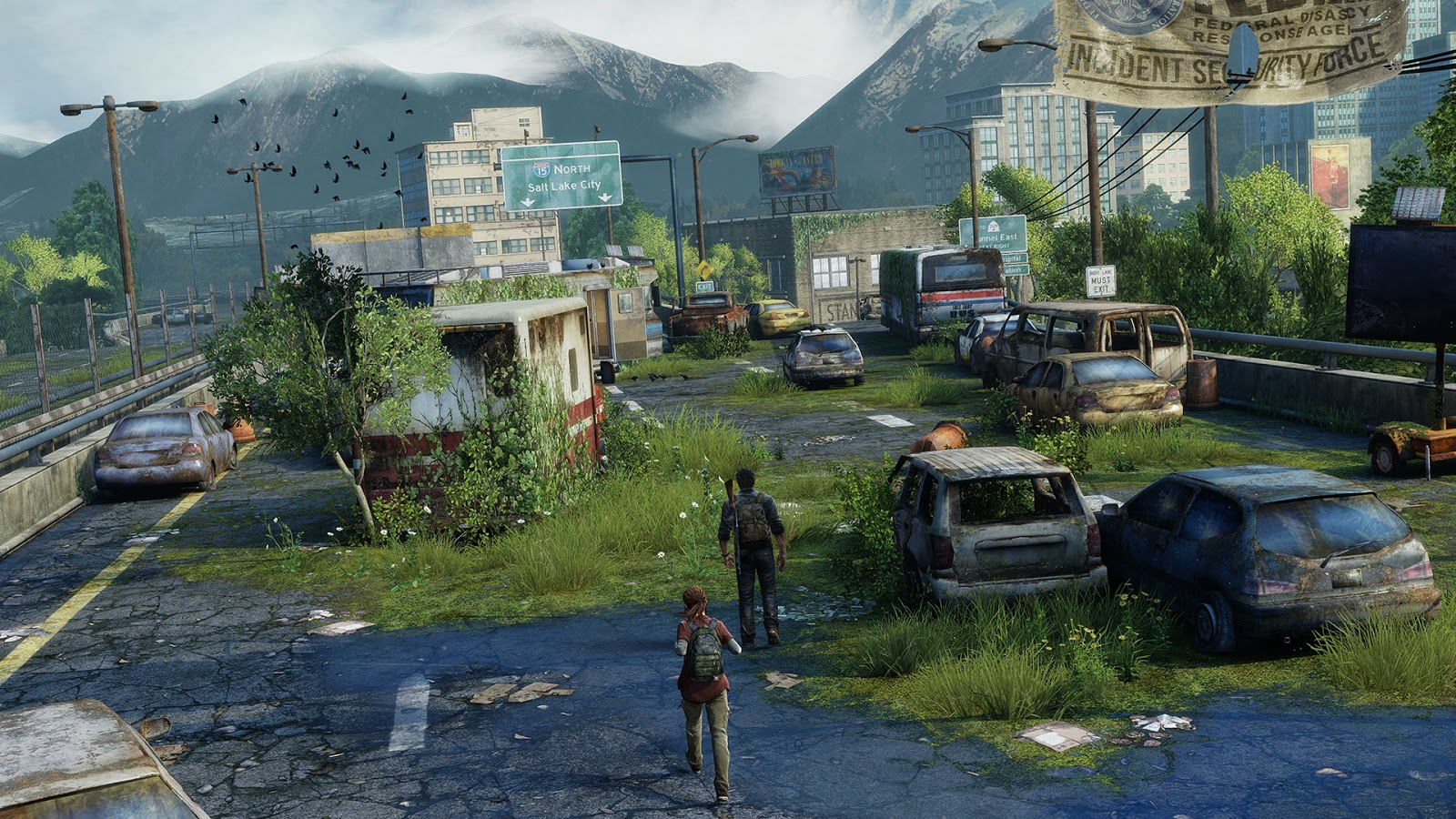the emotion with the the last of us is very dark gloomy and mysterious the author gustavo santaolalla has done this because he wanted to create the