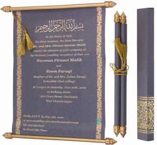 contoh naskah undangan pernikahan islami