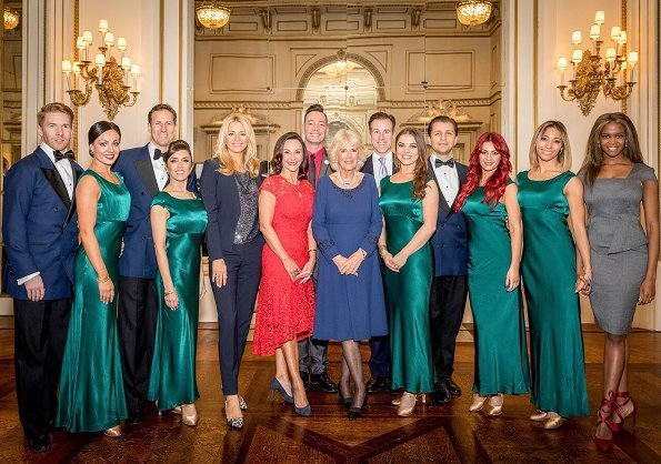 Duchess Camilla held tea party for Osteoporosis Society, the BBC Strictly dancers and Christmas Special celebrities