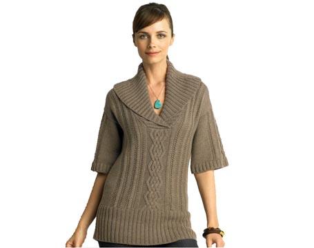 Fashion & Style: Shawl Collar Top