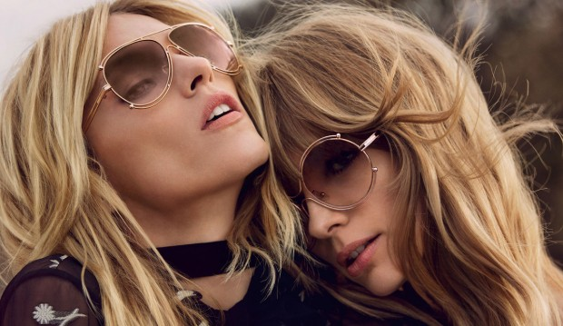 Chloe Fall/Winter 2015 Campaign featuring Anja Rubik and Julia Stegner