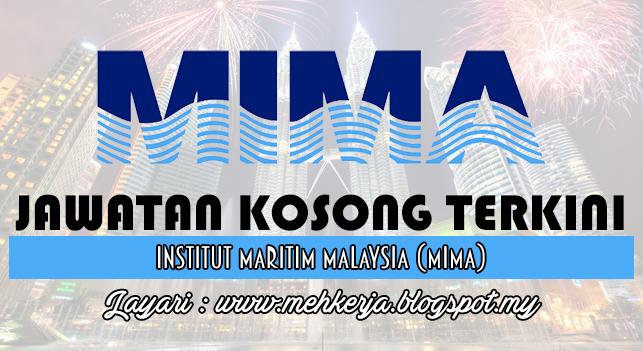 Jawatan Kosong Terkini 2016 di Maritime Institute of Malaysia (MIMA)