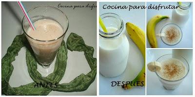batido de plátano