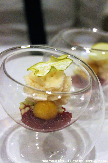 Sorbet at Gabriel Kreuther in New York City