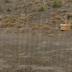 Bozkır'da Alçaklara Yağmur çilerken yukarılara Dolu yağdı.