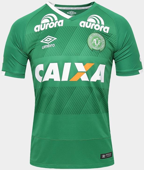 Umbro divulga novos uniformes da Chapecoense - Show de Camisas 771cf73b99dd8