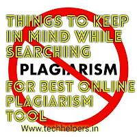 online plagiarism tool
