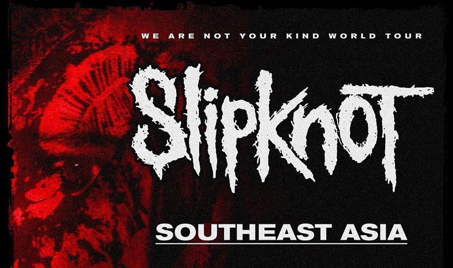 slipknot southeastasia tour