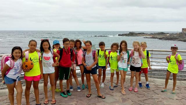 visita a la playa de bañaderos