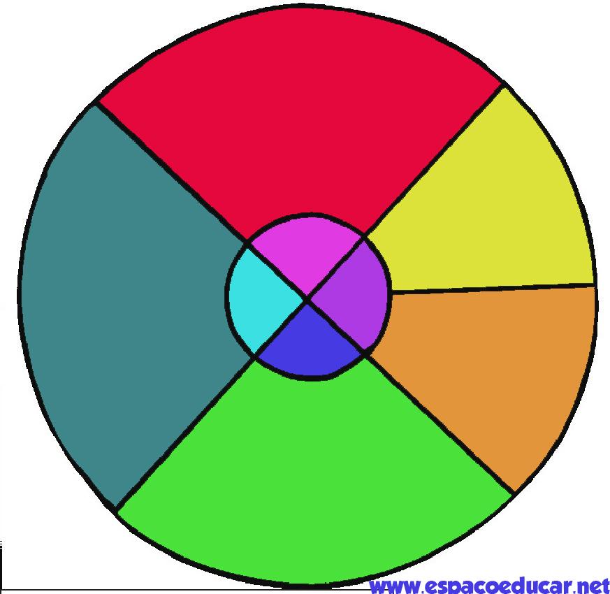 Famosos ESPAÇO EDUCAR: Tangram circular para imprimir NO91
