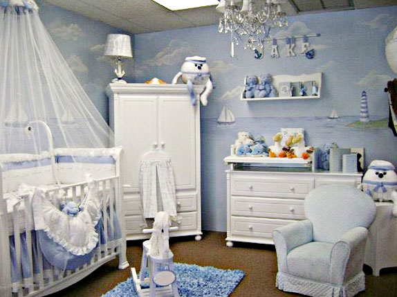 Desain Kamar Bayi Perempuan Baru Lahir
