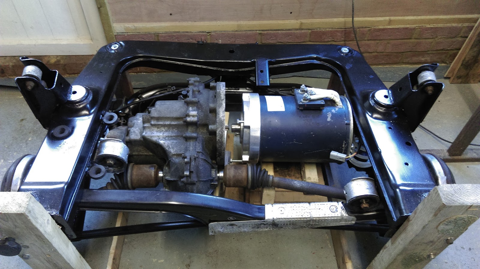 smart car engine swap kit smart roadster conversion to electric car [ 1600 x 897 Pixel ]