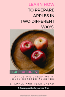 how to prepare apple -  two recipes