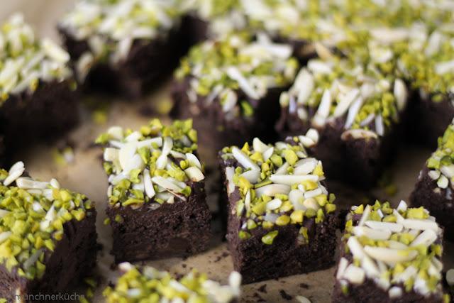 So ein Stückchen Brownie kann einen ziemlich glücklich machen.