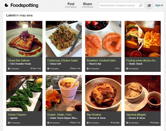 Food Spotting App
