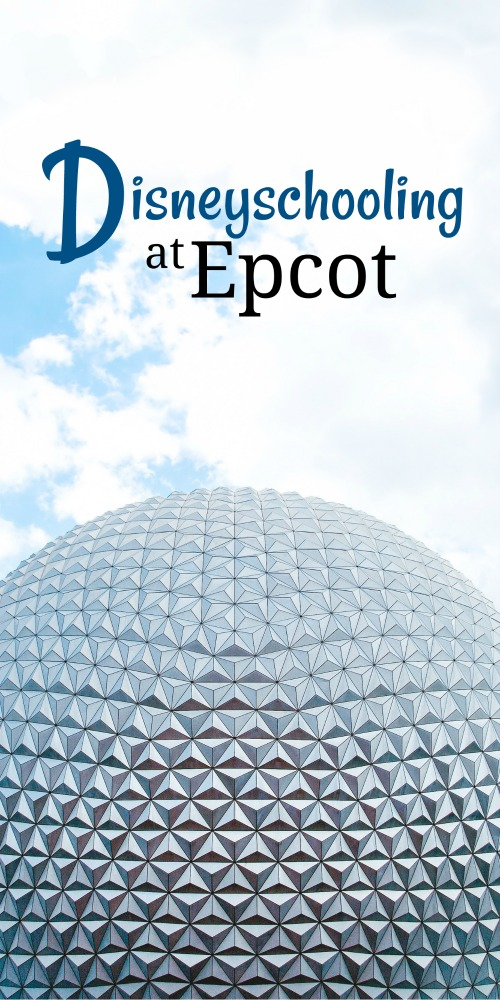 Here's my top homeschooling tips for squeezing learning out of Epcot