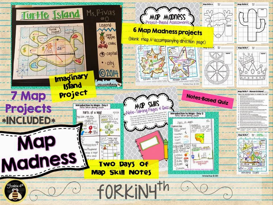 Map Skills Projects Worksheets for all | Download and Share ...