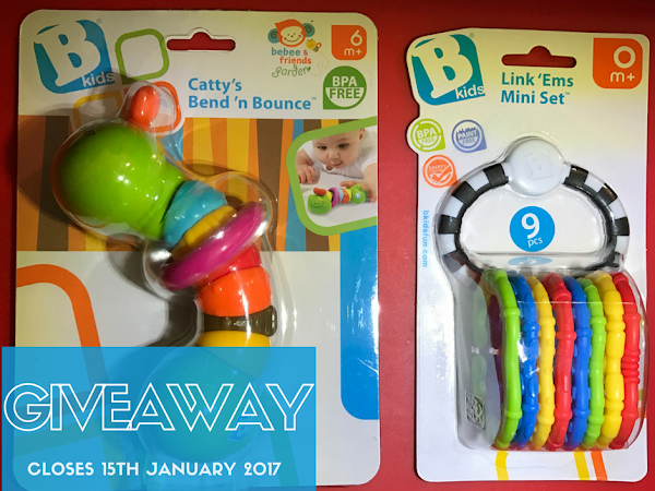 Giveaway: B Kids Baby Toys