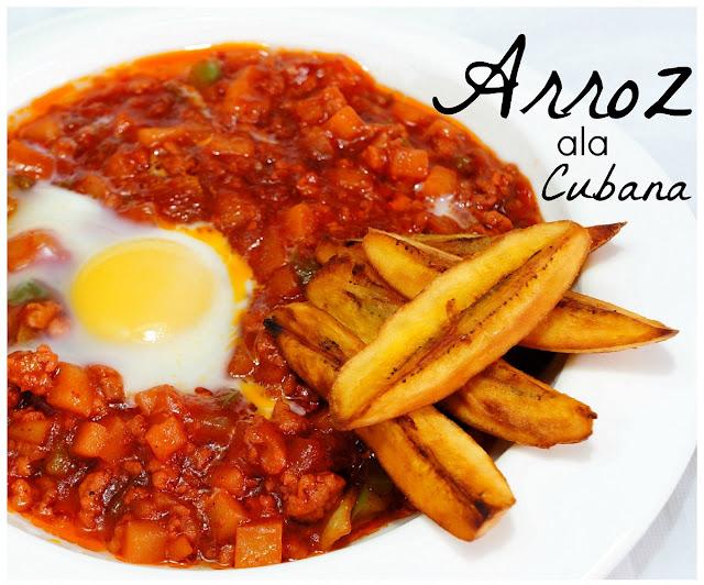 PINOY FOOD RECIPE ARROZ ALA CUBANA