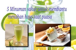 jus lemon,puasa,jadwal puasa,tips puasa,resep minuman puasa,sahur