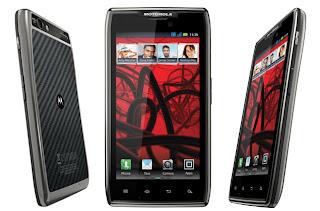 Spesifikasi HP Motorola RAZR MARX