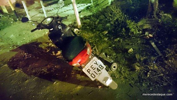 Moto roubada é recuperada na Cohab em Santa Cruz do Capibaribe