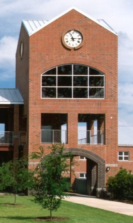 Chiles High School clock tower