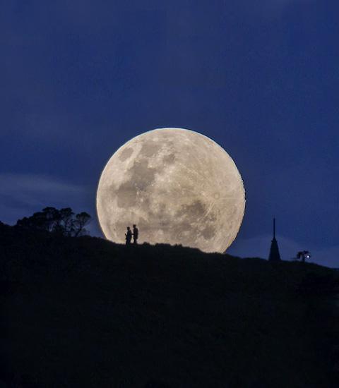 Lua Azul - Lua Cheia