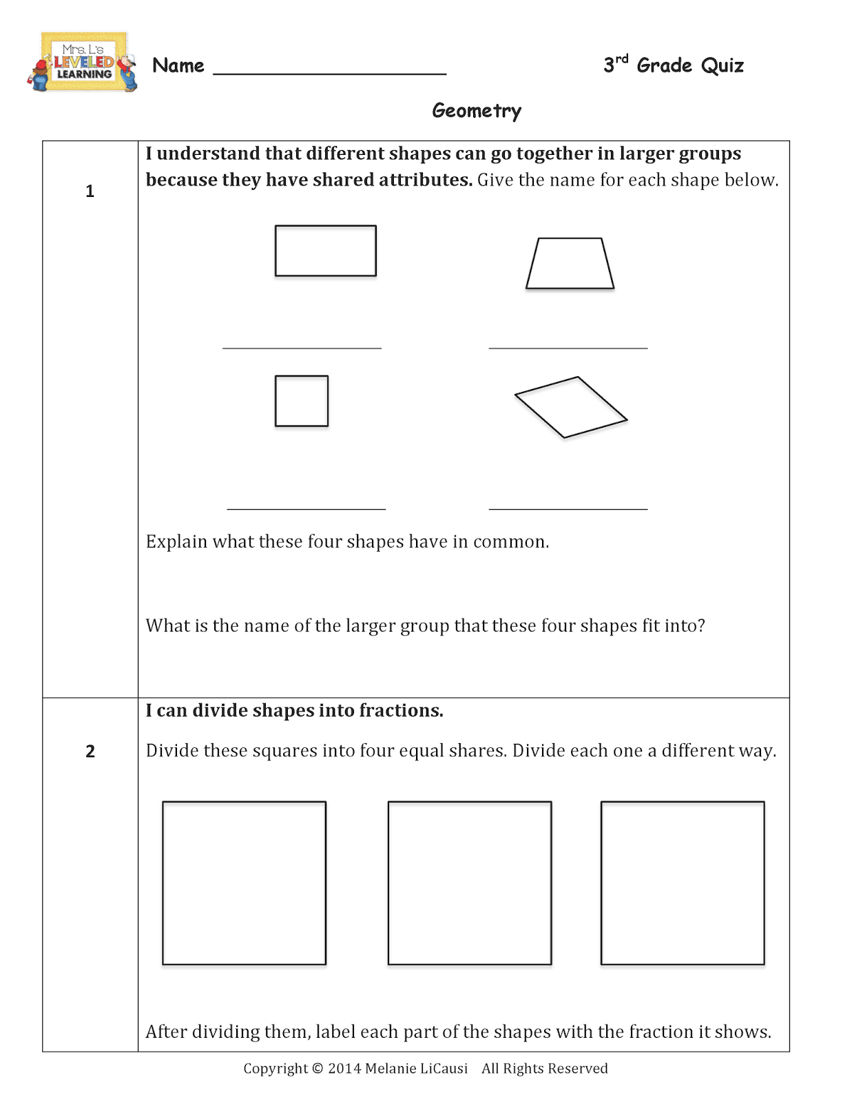 differentiation and integration quiz pdf
