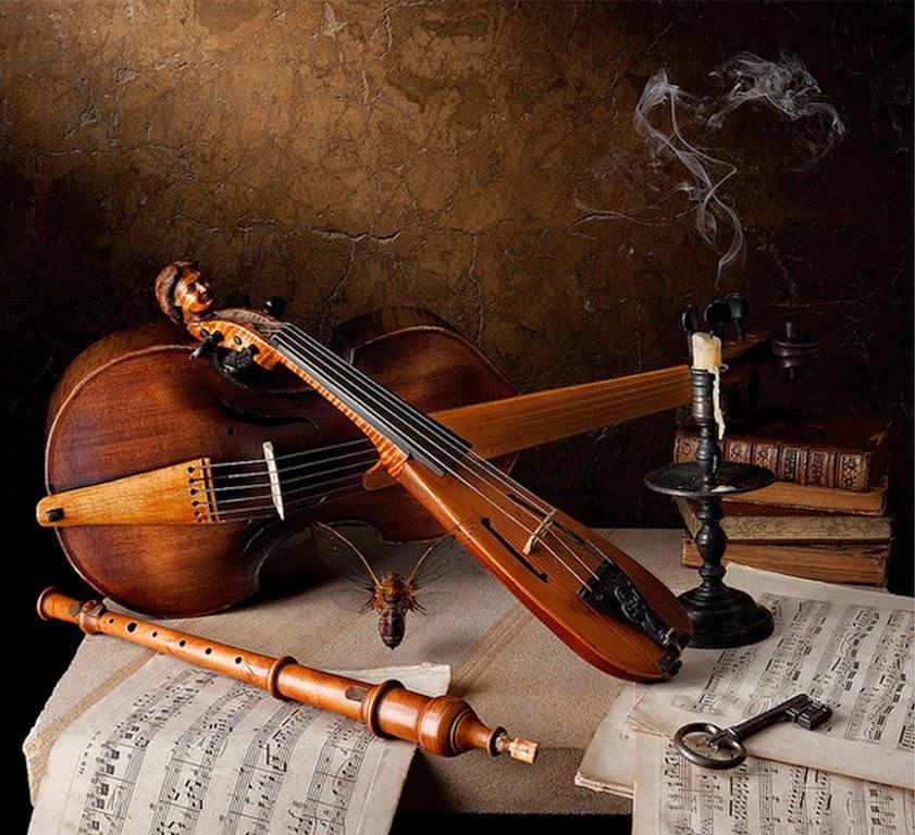 Cuadros, pinturas, oleos: Cuadros Instrumentos Musicales ...