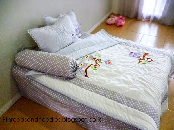 owl bedding for toddler
