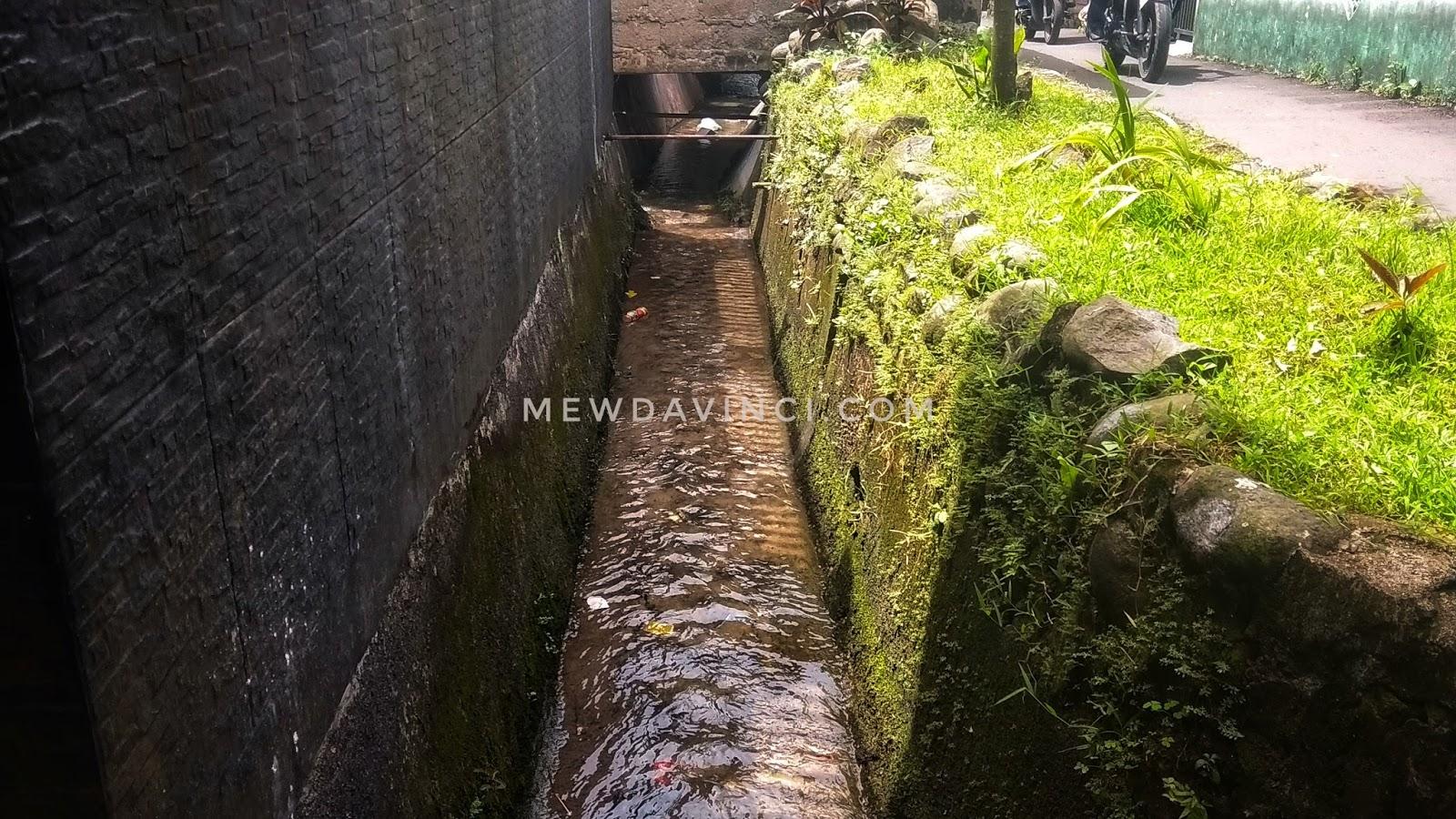 Got sebagai tempat saluran pembuangan air