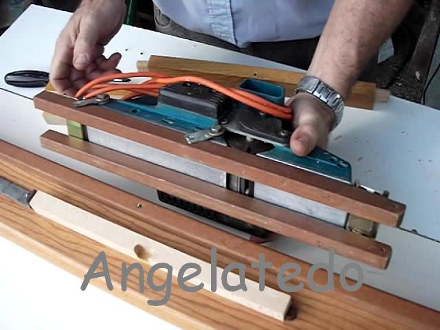 Gu a cepilladora casera para cepillo el ctrico de madera - Guia para construir ...