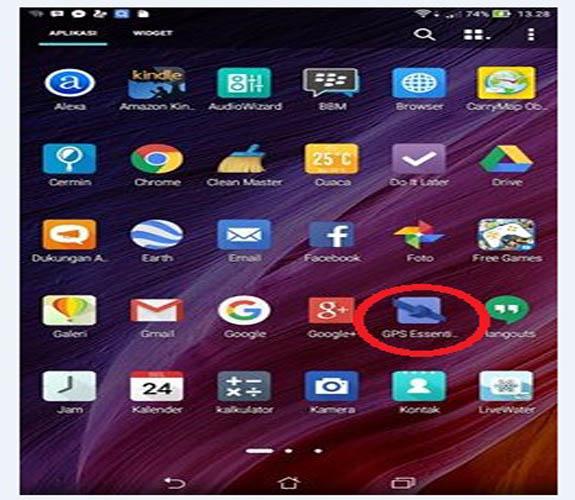 Cara Menggunakan GPS Essential di Android