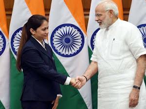 Narendra Modi congratulates Apurvi Chandela after gold medal in ISSF World Cup 2019