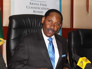 Ezekiel Mutua - Chairman, Kenya Film Classification Board