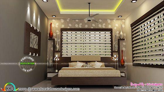 Bedroom interior year 2017