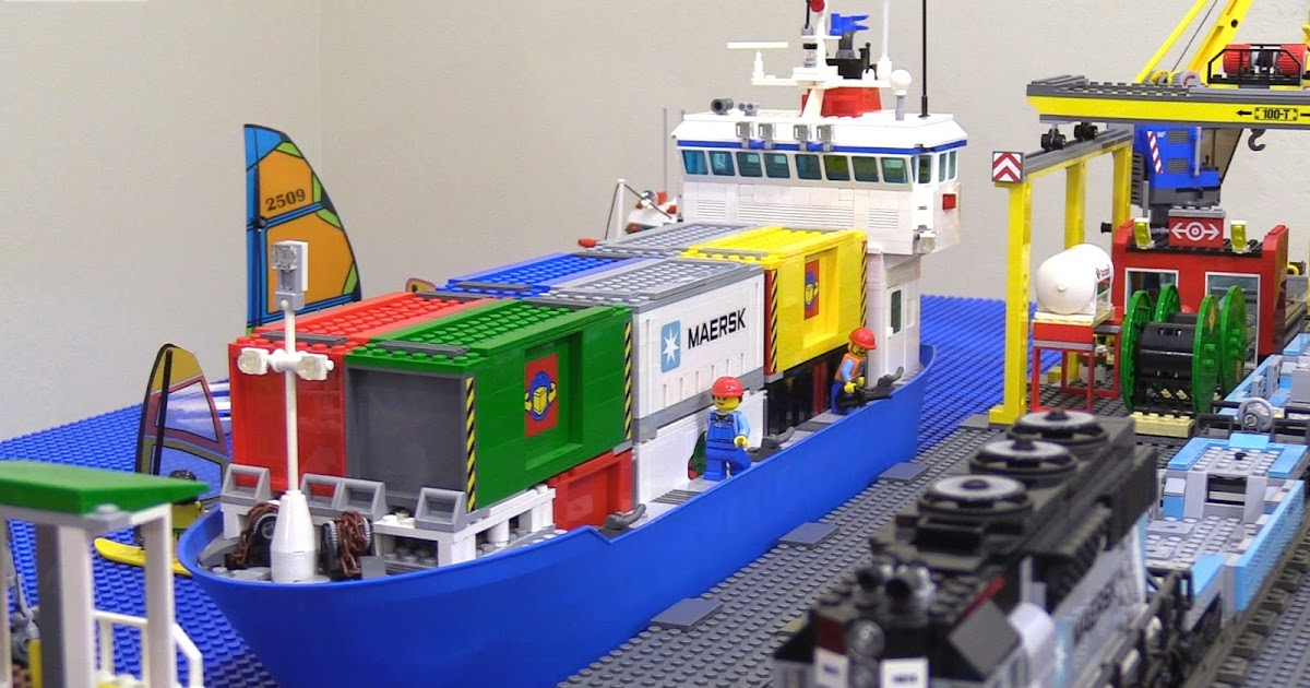 lego maersk ship instructions