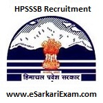 HPSSSB Recruitment 2018
