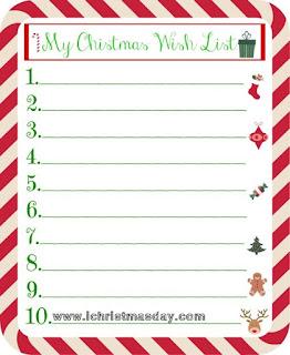 christmas wish list book
