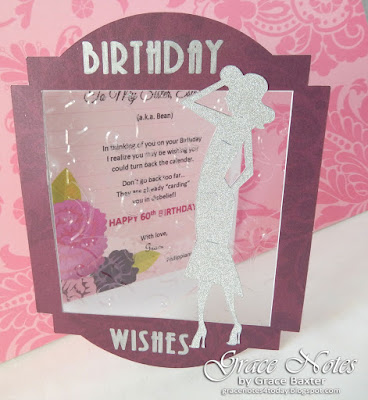 Glam Window B-day Card, by Grace Baxter