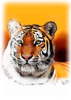 pinturas digitais de animais