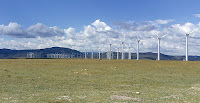 The Department of Energy last month embraced a change in how it calculates the value of renewable energy, such as wind power, on the electric grid. (Photo Credit: OLC Fiber/Flickr) Click to Enlarge.