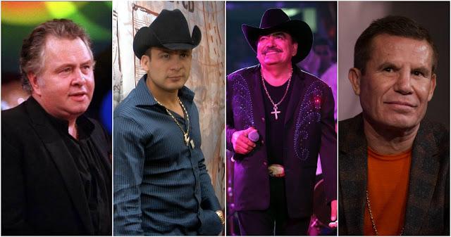 """La tentación del narco: """"Paco"""" Stanley, Valentín Elizalde, Joan Sebastian, Julio César Chávez…"""