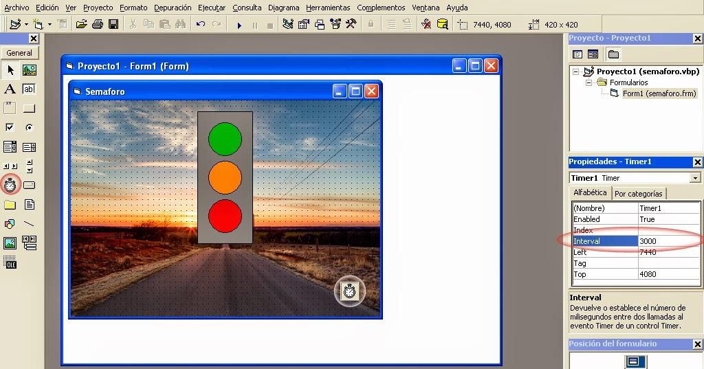 Visual Basic 6 0 Traffic lights | LimeProgramming - Programming