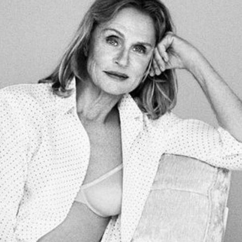 Tinuku Calvin Klein and Coppola chose Lauren Hutton, 73, for underwear model