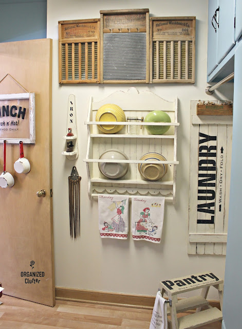 Farmhouse Style Laundry Room Decor