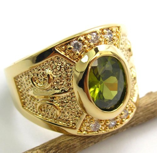 Topaz Fashion Gents Ring Jewellery Collection 9 Fashion Jewellery