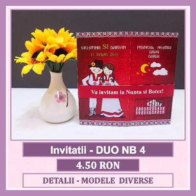 http://www.bebestudio11.com/2018/04/invitatii-nunta-si-botez-duo-nb-4.html